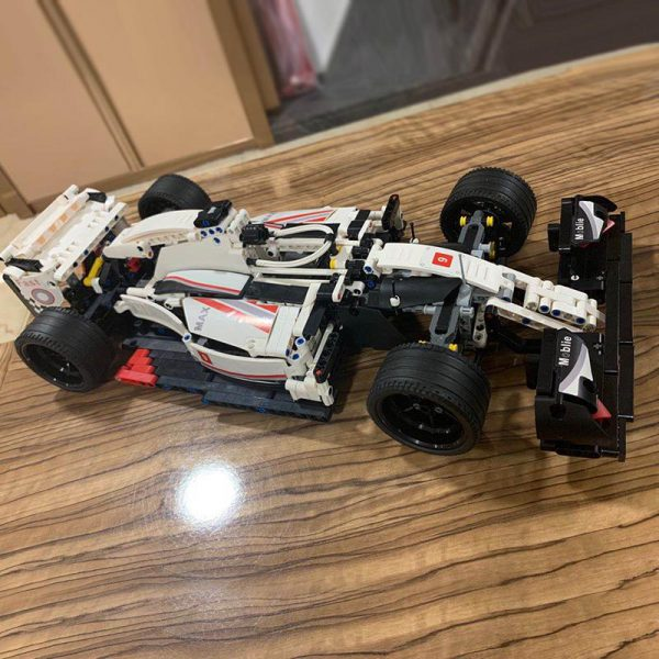 City F1 Racing Car Remote Control For compatible Legoing Technic RC Car Electric truck Building Blocks - MOULD KING