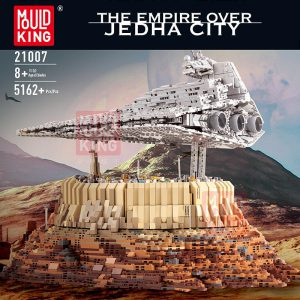 Mould King 21007 The Empire over Jedha City Compatible LepinBlocks MOC 18916 Building Bricks Educational Toy - MOULD KING
