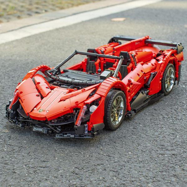 Mould King Technic 13079 App RC Car The New MOC 10559 Veneno Roadster with Motor Function 1 - MOULD KING