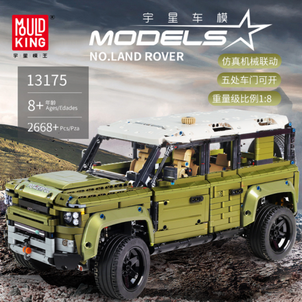 Off road Vehicle Technic Series Land Car Rover Model Building Blocks Compatible with Legoed 42110 Bricks - MOULD KING