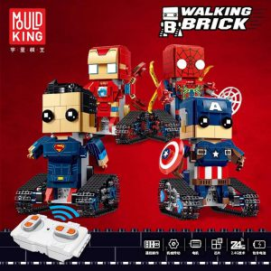 Yeshin 13038 13039 13040 13041 The Movable Robot Set Remote Control Robot Building Blocks Bricks New - MOULD KING