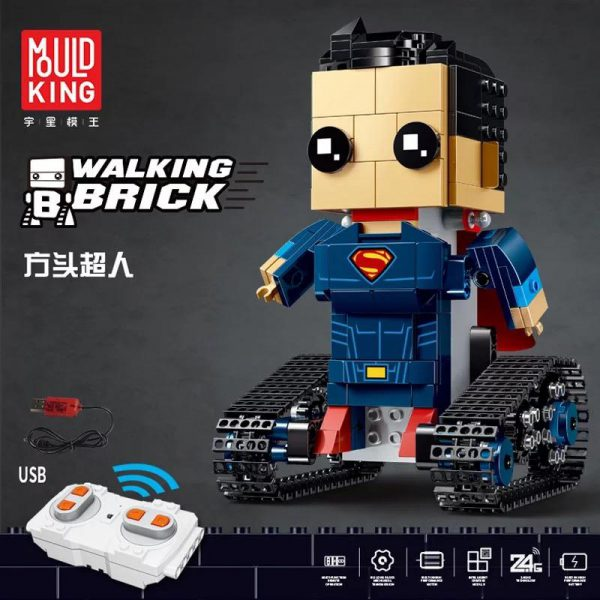 Yeshin 13038 13039 13040 13041 The Movable Robot Set Remote Control Robot Building Blocks Bricks New 1 - MOULD KING