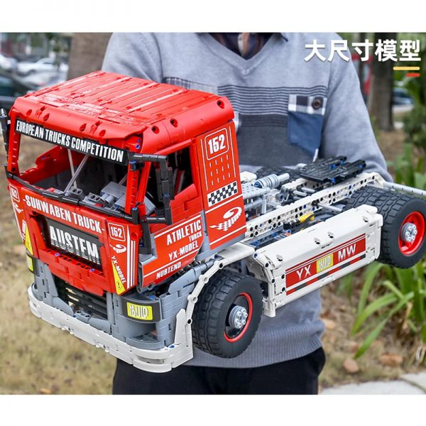MOULDKING 13152 MOC 27036 RC Race Truck MkII 5 - MOULD KING