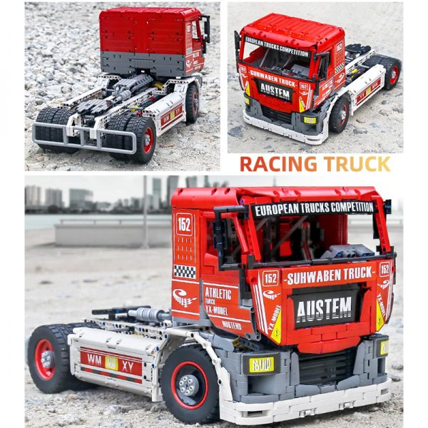 MOULDKING 13152 MOC 27036 RC Race Truck MkII 6 - MOULD KING