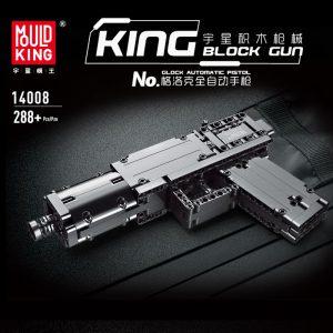 MOULDKING 14008 Glock Automatic Pistol - MOULD KING
