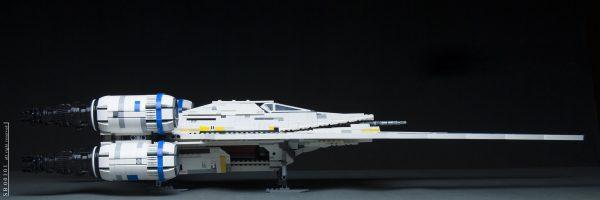 MOULDKING 21016 Rebel U Wing Fighter by Mirko Soppelsa - MOULD KING