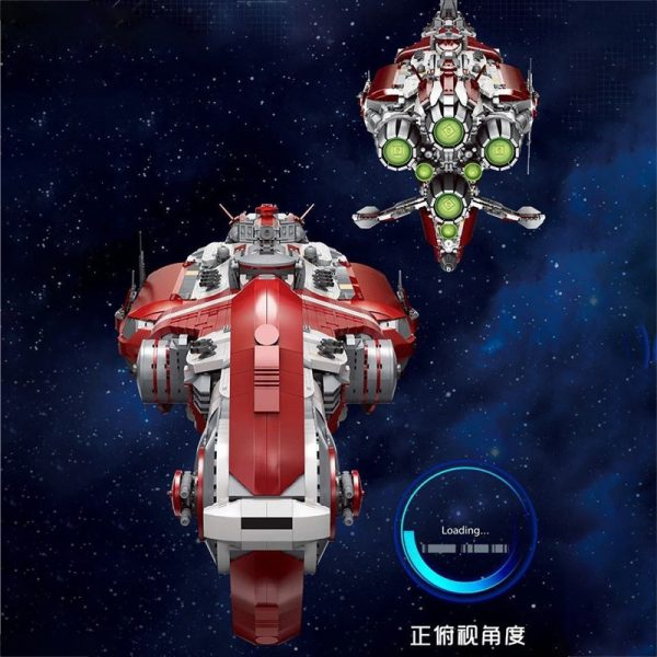 MOULD KING 21002 Old Republic Escort Cruiser with 8338 pieces