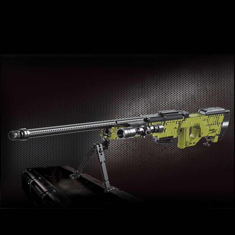 MOULDKING 14010 AWM Sniper Rifle with 1628 Pieces