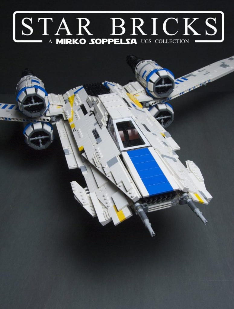 MOULD KING 21016 Rebel U Wing Fighter by Mirko Soppelsa with 3300 Pieces