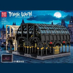 MOULDKING 12011 Wizarding World: 9-3/4 Magic Station with 3318 pieces