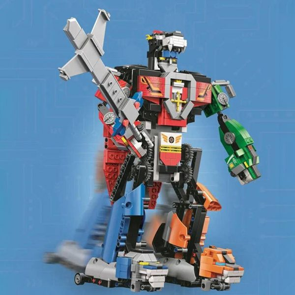 MOULDKING 15037 Voltron Robot with 1003 pieces