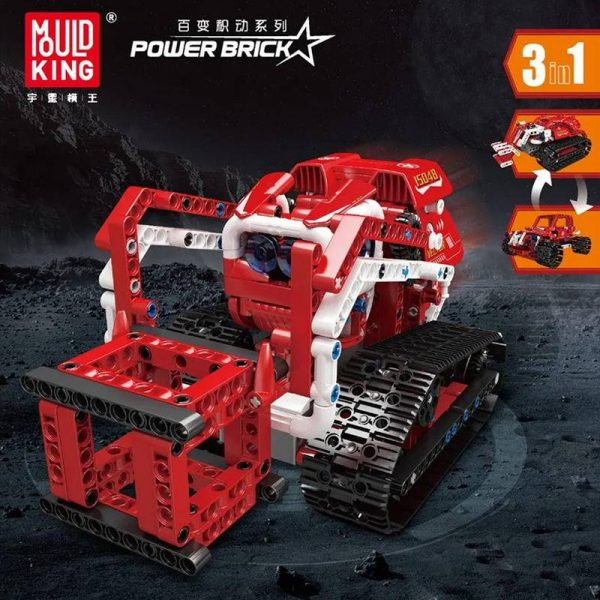 MOULDKING 15048 Power Brick Vector 3 in 1 with 568 pieces