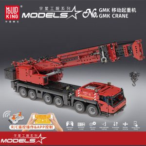 MOULDKING 17013 Grove Mobile Crane with RC with 4460 pieces