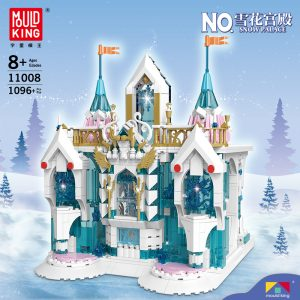 MOULD KING 11008 Snow Palace with 1096 pieces
