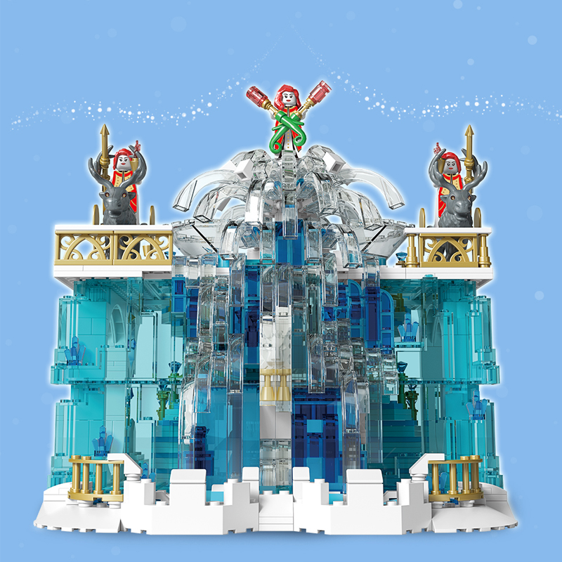 MOULD KING 11009 Crystal Falls with 1159 pieces