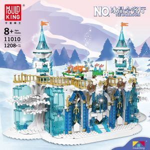 MOULD KING 11010 Ice Ballroom with 1208 pieces