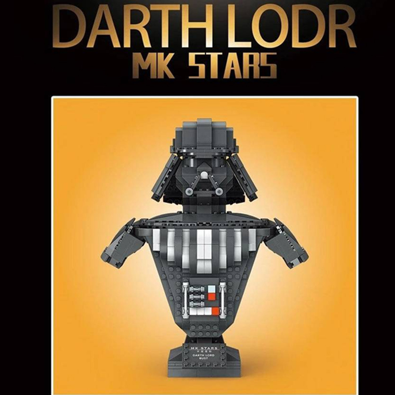 MOULD KING 21020 Darth Vader Bust Sculpture with 936 pieces