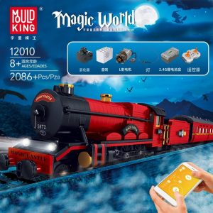 MOULDKING 12010 Magic World: Magic Train with 2086 pieces
