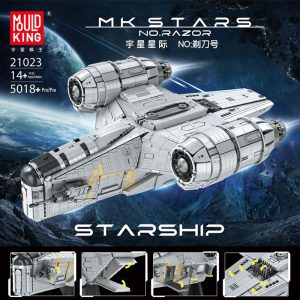 MOULDKING 21023 Razor Starship with 5018 pieces