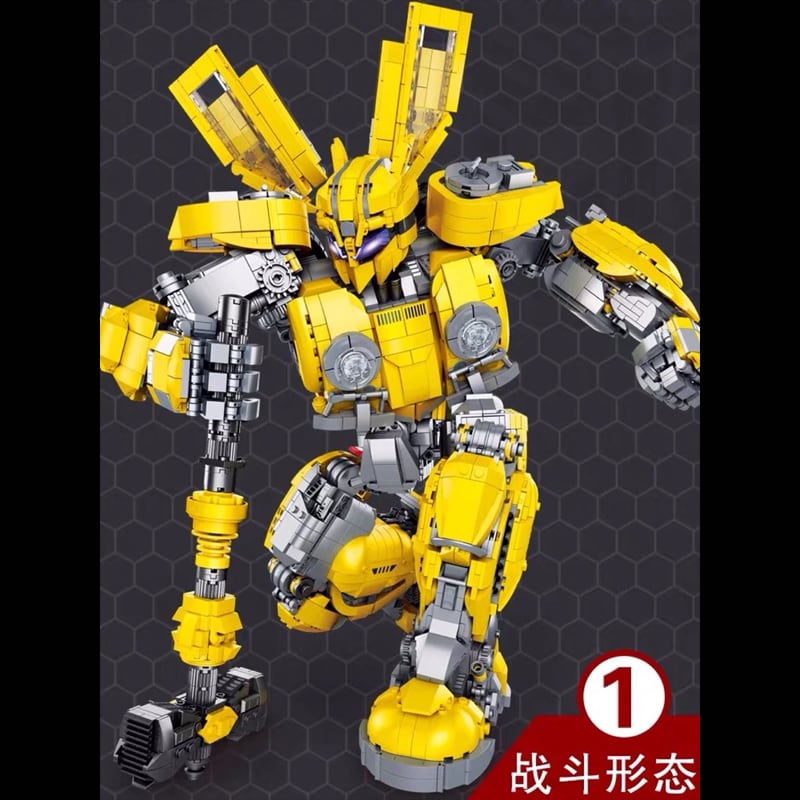 66 773 bumblebee transformer movie 4509 - MOULD KING