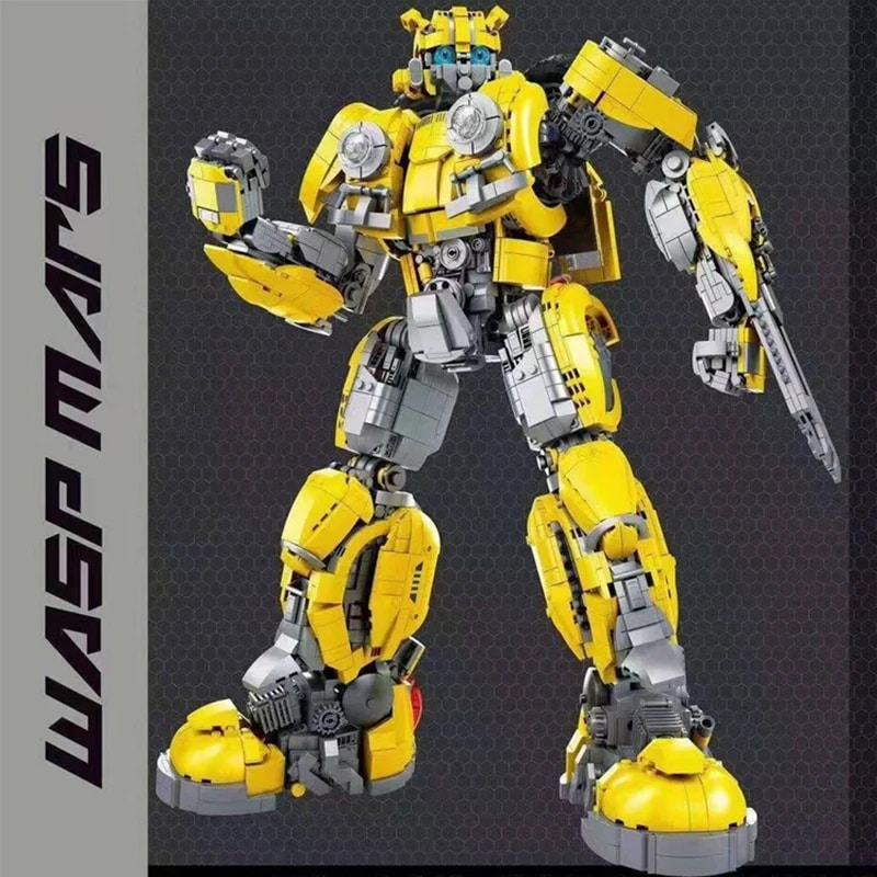 66 773 bumblebee transformer movie 5950 - MOULD KING