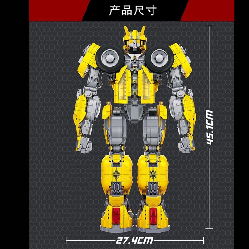 66 773 bumblebee transformer movie 6138 - MOULD KING