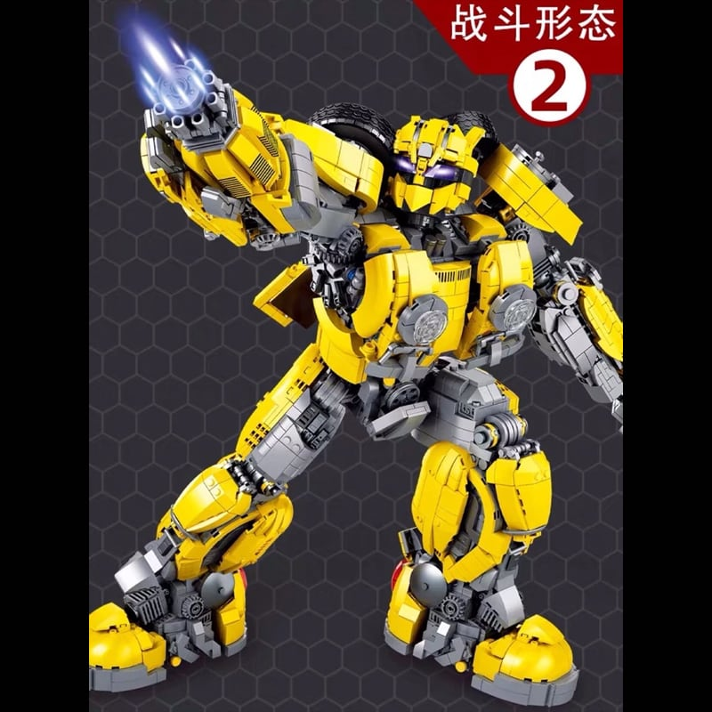 66 773 bumblebee transformer movie 7813 - MOULD KING