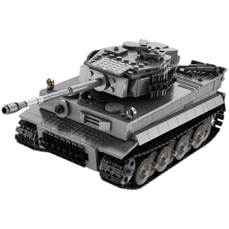 cada c61071 sdkfz 181 tiger tank with rc 5085 - MOULD KING