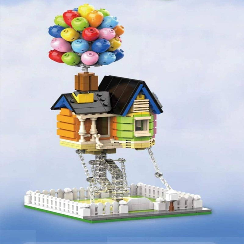 dk 7025 up movie balloon house creator 7252 - MOULD KING