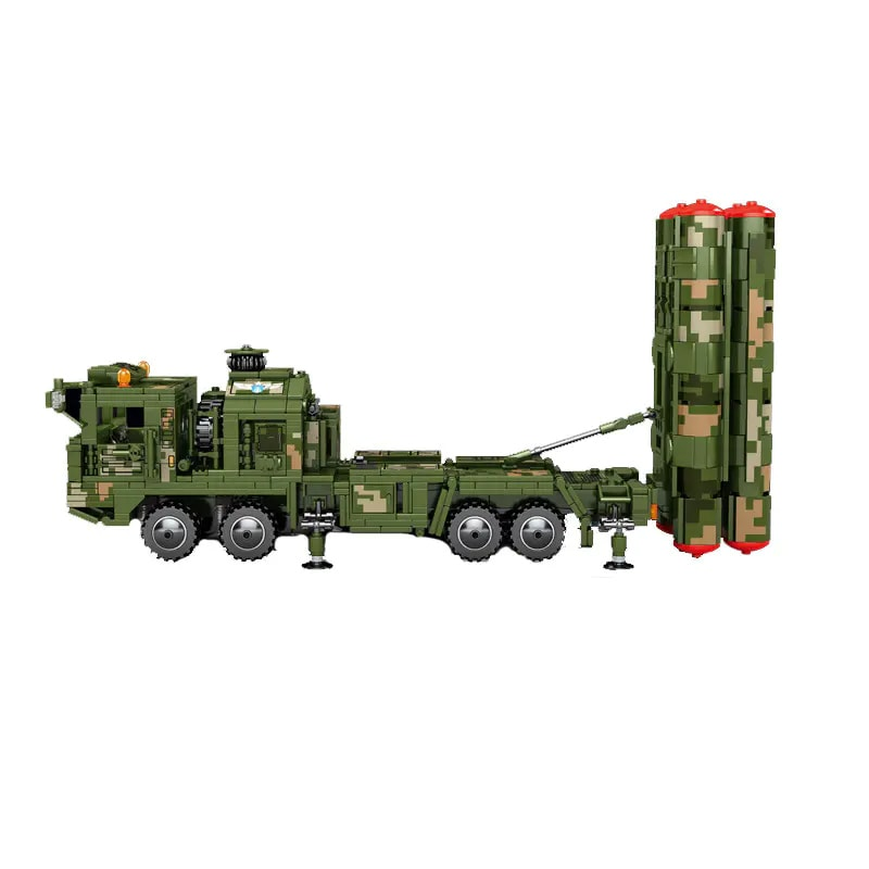 sembo 105768 hq 9 anti aircraft long range missiles military system 6235 - MOULD KING