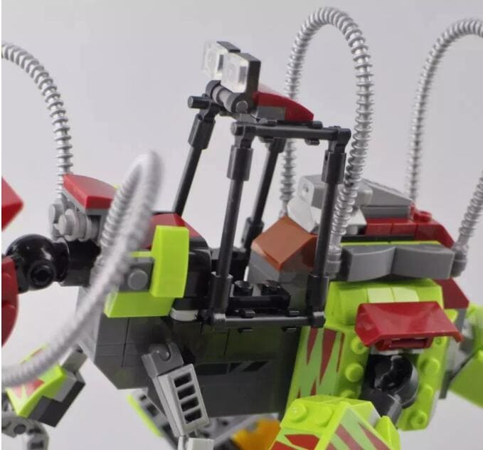 sy 1410 compatible with moc 75938 t rex vs dino mech battle jurassic world movie 7841 - MOULD KING