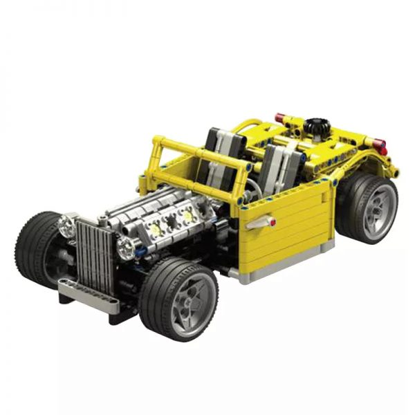 MOC 0160 Chopped Hot Rod Technic by Crowkillers MOC FACTORY 2 - MOULD KING