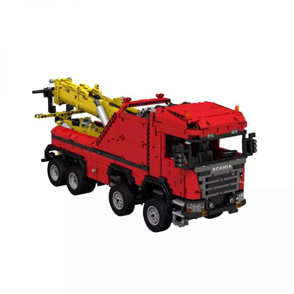 MOC 0583 Scania 8x8 Extreme Tow Truck Technic by JaapTechnic MOC FACTORY 2 - MOULD KING