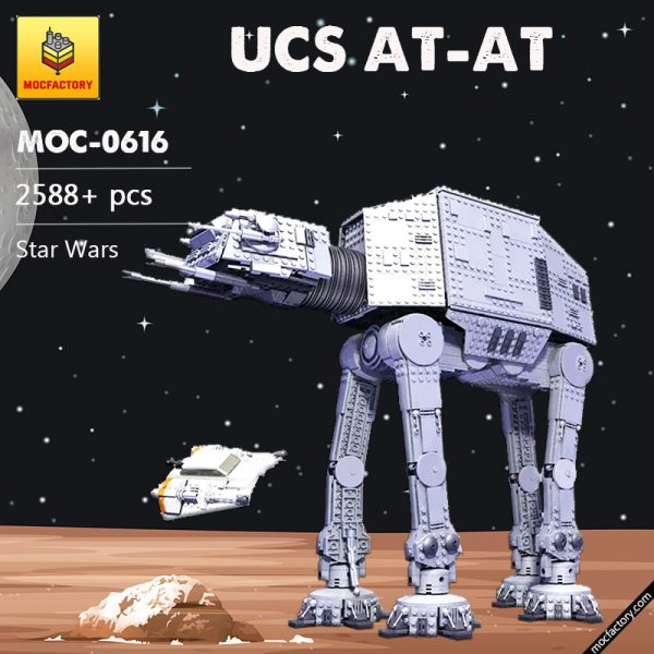 MOC 0616 UCS AT AT Star Wars by Aniomylone MOC FACTORY 2 - MOULD KING