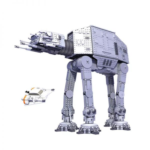 MOC 0616 UCS AT AT Star Wars by Aniomylone MOC FACTORY - MOULD KING