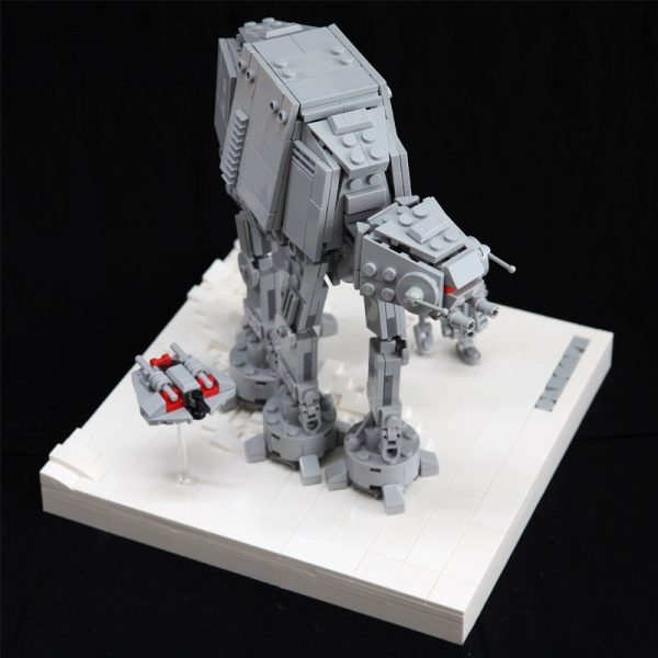 MOC 11431 AT AT Assault on Hoth Star Wars by onecase MOC FACTORY 2 - MOULD KING