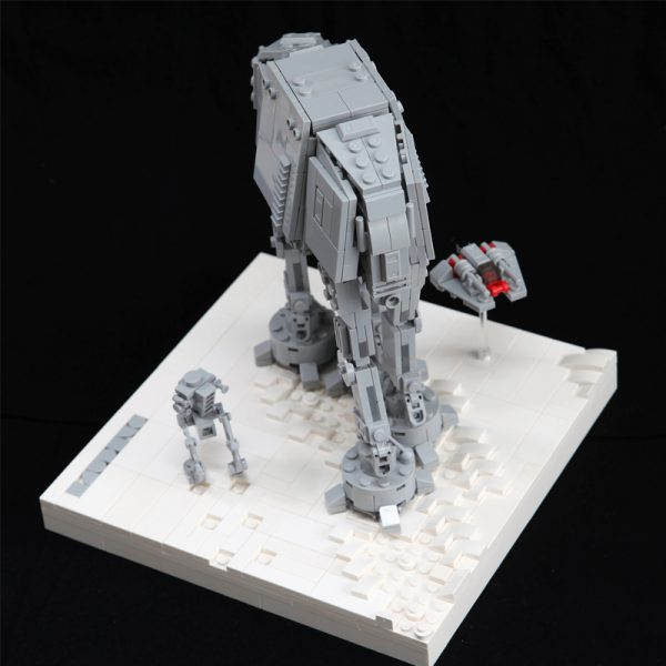 MOC 11431 AT AT Assault on Hoth Star Wars by onecase MOC FACTORY 3 - MOULD KING