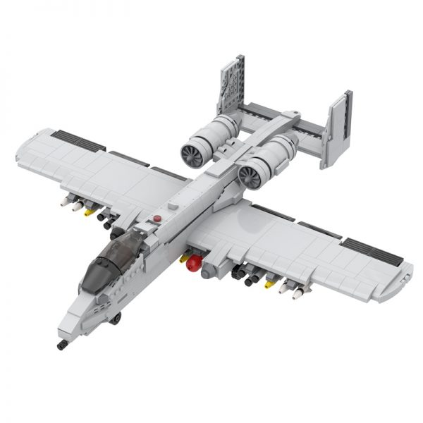 MOC 12091 A 10 Thunderbolt II Military by DarthDesigner MOC FACTORY 2 - MOULD KING