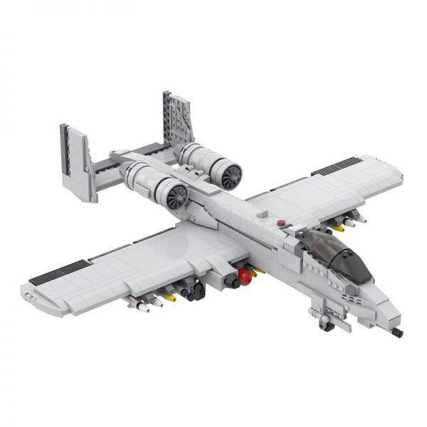 MOC 12091 A 10 Thunderbolt II Military by DarthDesigner MOC FACTORY 3 - MOULD KING