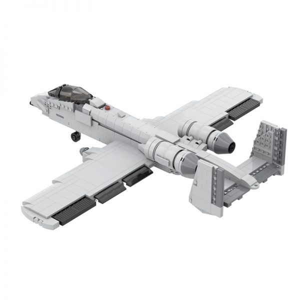 MOC 12091 A 10 Thunderbolt II Military by DarthDesigner MOC FACTORY 4 - MOULD KING
