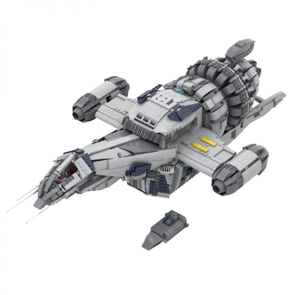 MOC 12777 FIREFLY SERENITY Space by Polyprojects MOC FACTORY 2 - MOULD KING