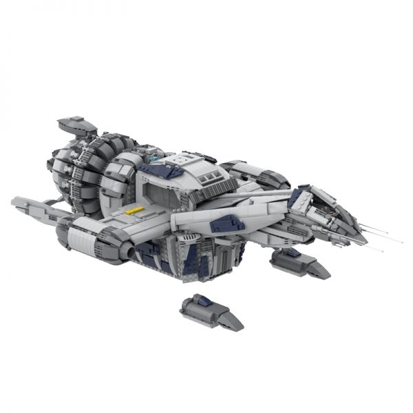 MOC 12777 FIREFLY SERENITY Space by Polyprojects MOC FACTORY 3 - MOULD KING