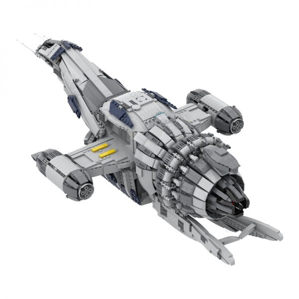 MOC 12777 FIREFLY SERENITY Space by Polyprojects MOC FACTORY 4 - MOULD KING
