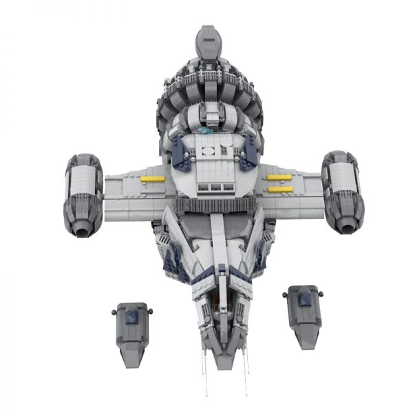 MOC 12777 FIREFLY SERENITY Space by Polyprojects MOC FACTORY 5 - MOULD KING
