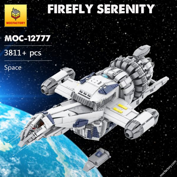 MOC 12777 FIREFLY SERENITY Space by Polyprojects MOC FACTORY - MOULD KING