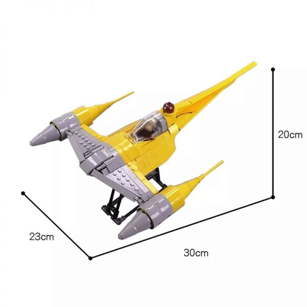 MOC 13997 N 1 Starfighter Minifig Scale Star Wars by brickvault MOC FACTORY 2 - MOULD KING