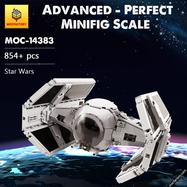 MOC 14383 Advanced Perfect Minifig Scale Star Wars by brickvault MOC FACTORY - MOULD KING