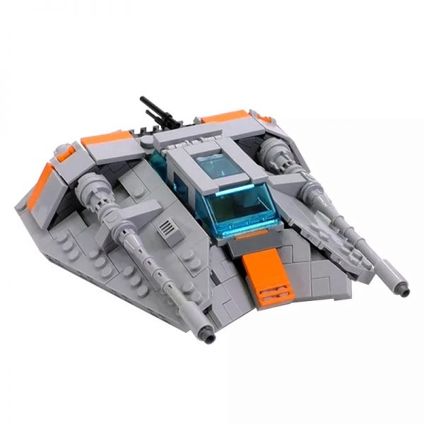 MOC 15626 Snowspeeder Minifig Scale Star Wars by brickvault MOCFACTORY 2 - MOULD KING
