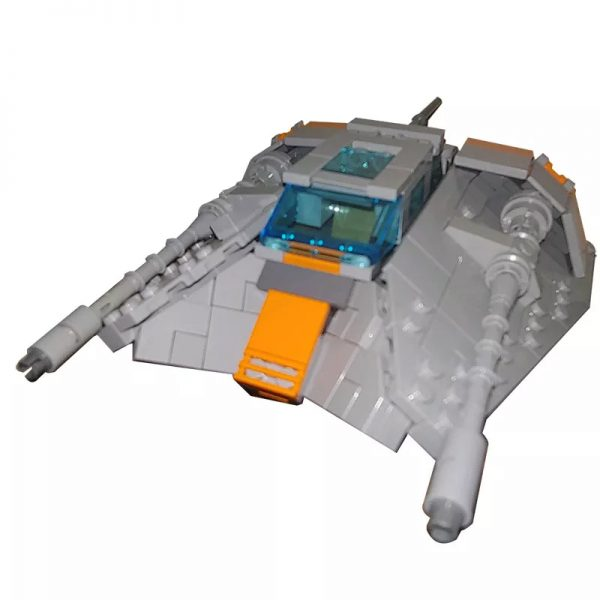 MOC 15626 Snowspeeder Minifig Scale Star Wars by brickvault MOCFACTORY 3 - MOULD KING