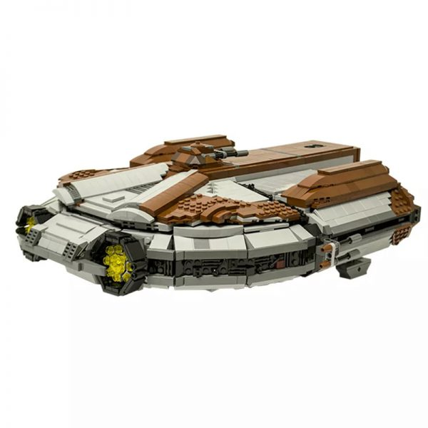 MOC 16083 SW Knights of the Old Republic Ebon Hawk Star Wars by CRCT Productions MOC FACTORY3 - MOULD KING
